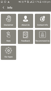Arthritis Reference Card screenshot