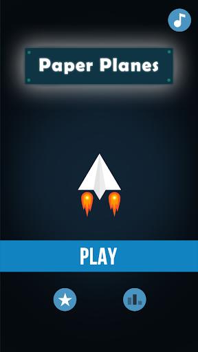 Paper plane Game apkmind screenshots 1