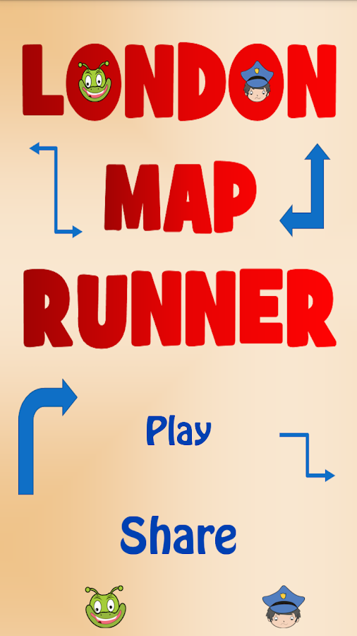 London Map Runner- screenshot