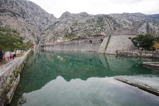 Kotor-waterway.jpg - A centuries-old manmade waterway in Old Kotor, Montenegro.