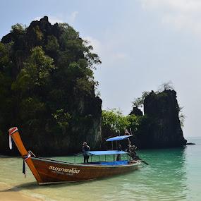 Krabi by Vanitha Nair - Landscapes Travel ( nature, thailand, nikon d, travel, boat, krabi )