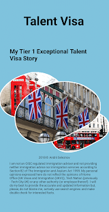 Talent Visa for PC-Windows 7,8,10 and Mac apk screenshot 1