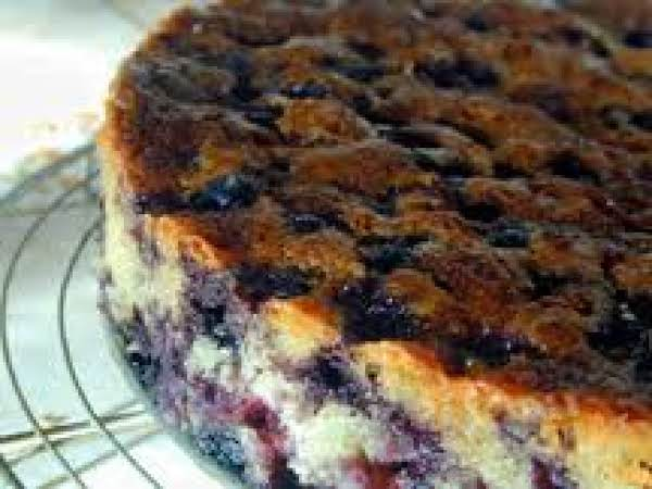 Black Hills Hideaway Blueberry Coffee Cake Recipe