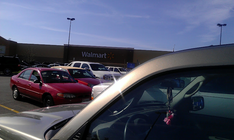 Photo: On to Walmart #2, hope we have better luck this time because The Boy is bored already.