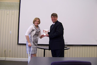Photo: Parkview Adventist Medical Center CEO Randee Reynolds accepting their Gold Star Champion Award