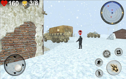 Army Invasion Strike Patriotic War of Winter  captures d'écran 1