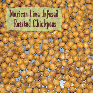 Mexican Lime Infused Roasted Chickpeas