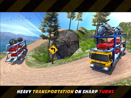 OffRoad Robot Transport Truck Driving Simulator for PC