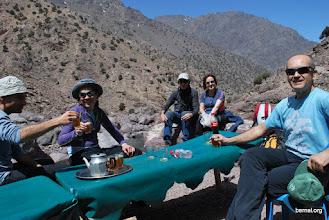 Photo: El preceptivo té de bienvenida