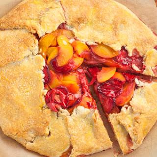 4-Ingredient Strawberry Peach Tart Recipe