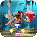 atlantis jewels dive - match 3 icon