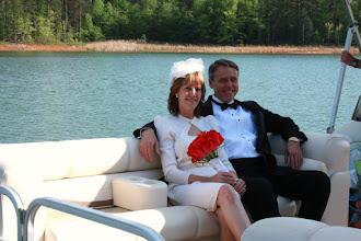 """Photo: """"Elope on a Boat!"""" www/WeddingWoman.net ~ Photo by Sarah Thompson ~ www.PhotoDayBliss.com ~"""
