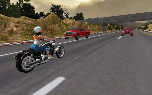 Racing Girl 3D apkdebit screenshots 5
