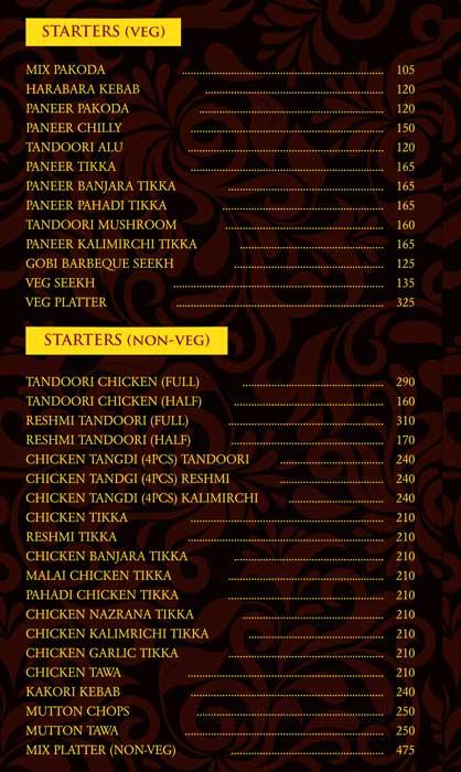 Punjabi Tadka by Crystal menu 4