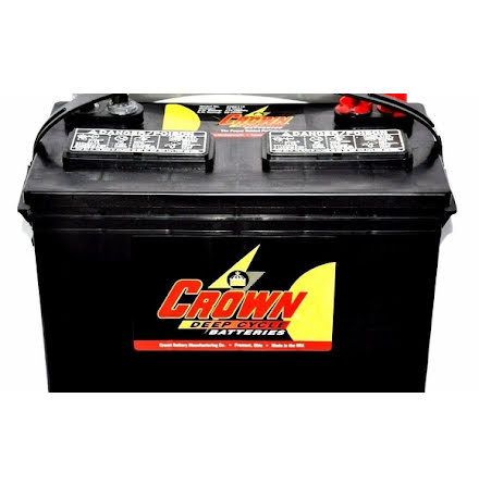 Deep-cycle batteri 12V/115Ah