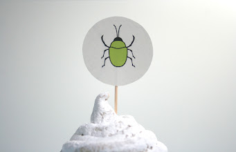 Photo: Beetle topper from insects set