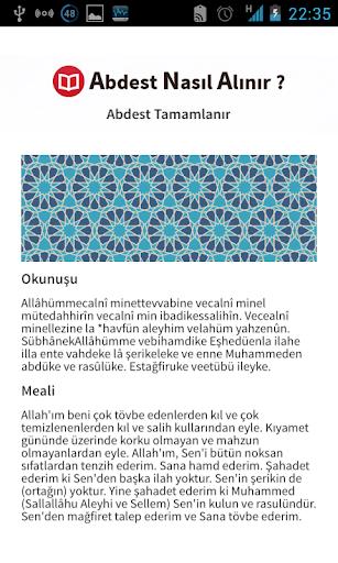 Abdest Hocasu0131 0.0.2 screenshots 3