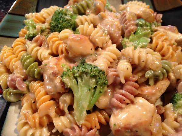 Chicken Broccoli Bleu Cheese Pasta Recipe