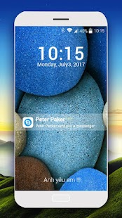 OS10 lock screen- screenshot thumbnail