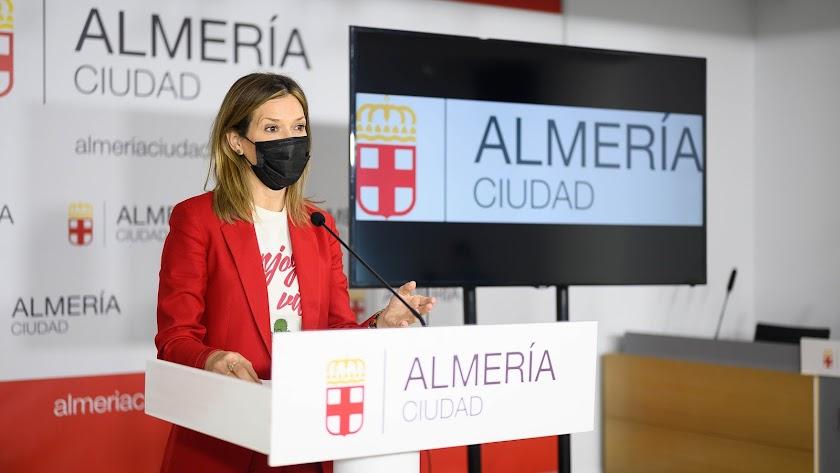 Ana Martínez Labella, consejera delegada de \'Almería XXI\'