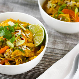 Thai-Style Coconut Chicken Curry