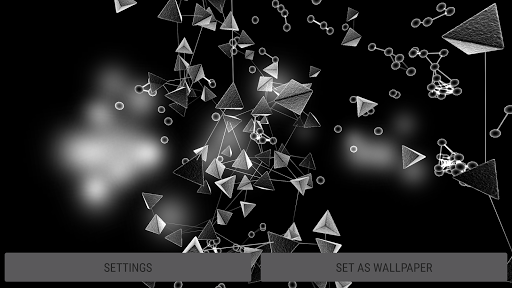 Particle Cells & Molecules 3D Live Wallpaper  screenshots 15