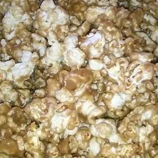 Caramel Popcorn with Marshmallow