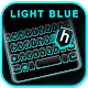 Neon Blue Black Keyboard Theme Download for PC Windows 10/8/7