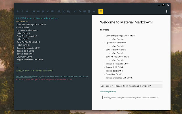 bold in markdown
