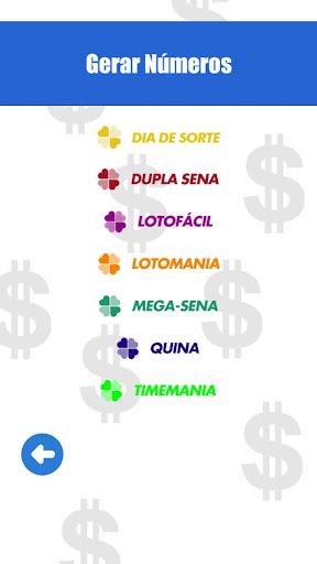 Loteria - Números da Sorte screenshot 2