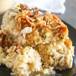 Creamy Mushroom Chicken Bake Recipe