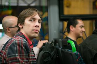 Photo: В автобусе. Застигнут врасплох!