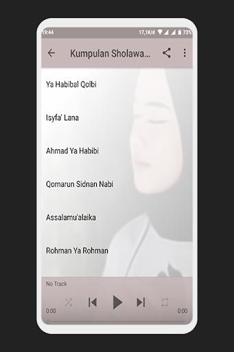 Sholawat Nissa Sabyan Offline Mp3 1.0 screenshots 3