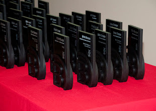 Photo: Awards made by Certified B Corporation Rivanna.