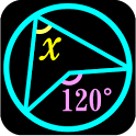 Angles? solve figures problems icon