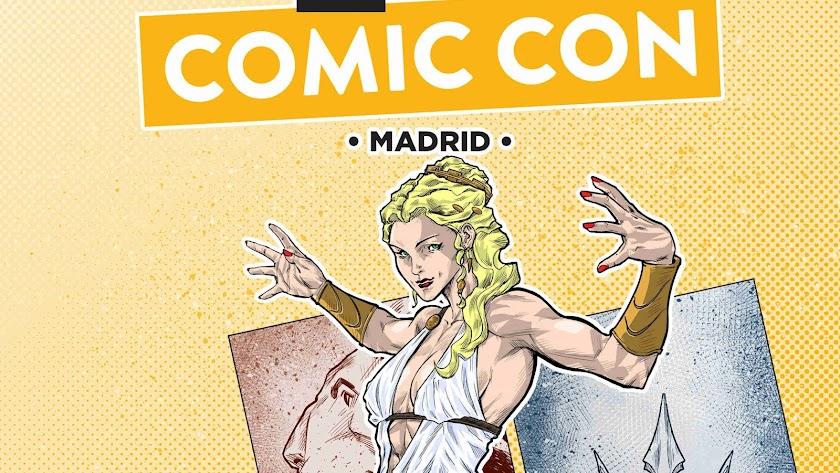 Detalle del cartel de Jorge Alonso Guirado.
