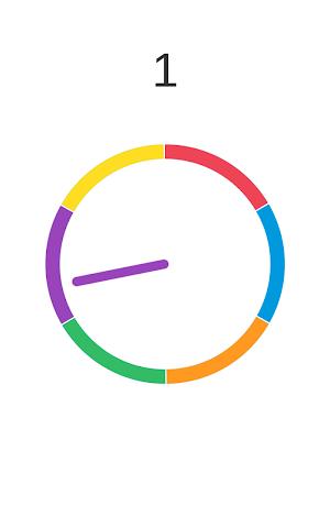 android Insane Wheel-Spinny Circle Screenshot 2