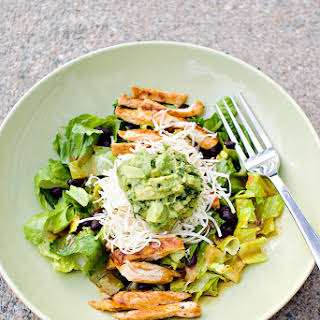 Grilled Chicken Salad with Chipotle Honey Vinaigrette.