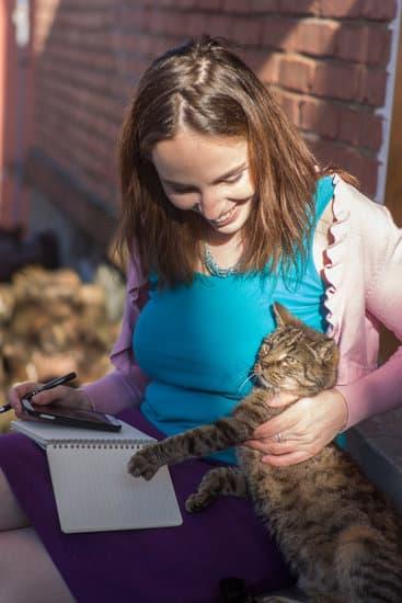 copywriterka s kočkou