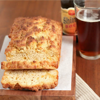 Whole Wheat Cheddar Cheese Beer Bread.