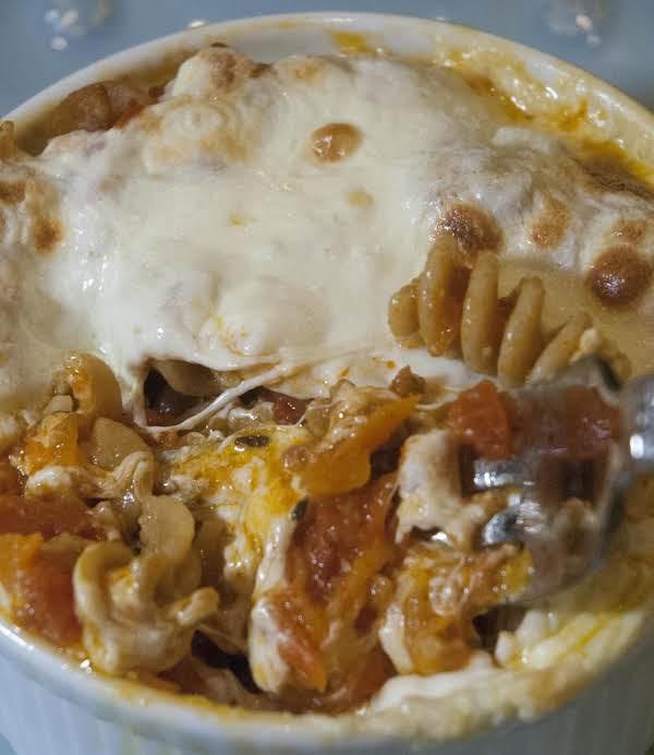 Easy Peasy Sausage/sirloin/pasta Bake Recipe