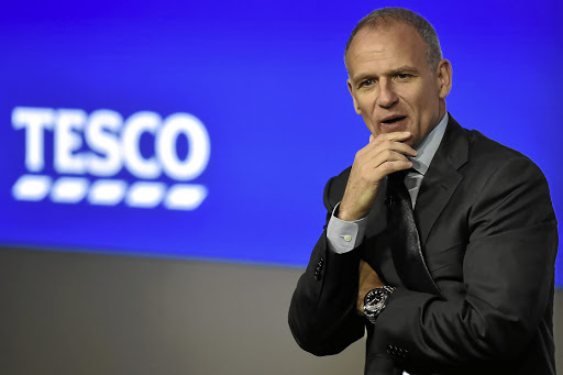 Sustainable returns: Tesco Group CE Dave Lewis says the supermarket chain is growing again, recovering profitability and generating significant cash. Picture: REUTERS