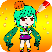 Gacha Coloring Book Android APK Download Free By Cala Games