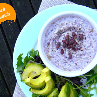 Goats cheese and Adzuki bean dip **Lunch Munch**