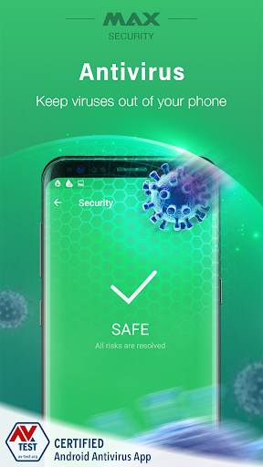 Screenshot for Virus Cleaner, Antivirus, Cleaner (MAX Security) in United States Play Store