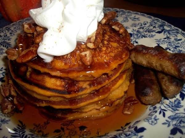 Pumpkin Pancakes ~ Melt In Your Mouth