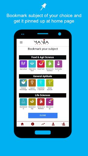 ManiaQuiz - improves skills for competitive exams  screenshots 1