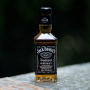 Jack Daniels 200ml bottle