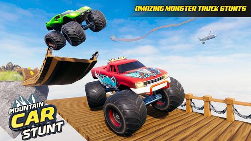 Camion Monstre Acrobatique: Jeu de Conduite 2021  captures d'écran 2