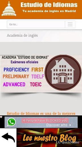Estudio de Idiomas